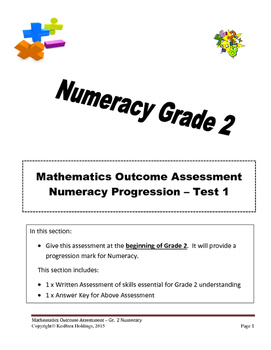 Grade 2 - Numeracy Progression Assessment