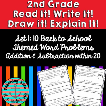 Grade 2-Set 1-Read It! Write It! Draw It! Explain It! - Ad