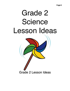 Grade 2 Science Lesson Ideas