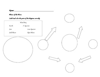 Grade 2 Science: Phases of the Moon Assessment and Rubric