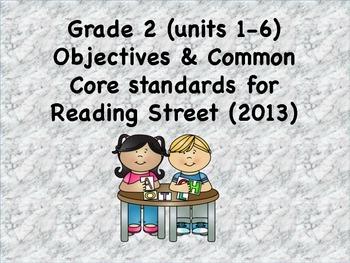 Grade 2 Scott Foresman 2013 Objectives and common core sta