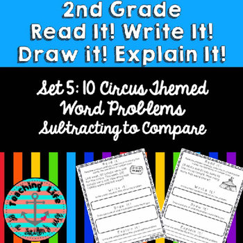 Grade 2-Set 5-Read It! Write It! Draw It! Explain It! - Su