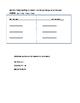 Grade 2 Skills Strand Weekly Assessment - Unit 1 Week 1