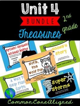 Grade 2 Treasures Unit 4 Bundle