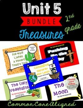 Grade 2: Treasures: Unit 5 Bundle