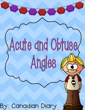 Grade 3 - 4 Math: Acute Angles and Obtuse Angles