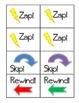 ZAP! Sight Word & Word Work Game ~ Grade 3 BUNDLE (3 Word lists!)