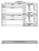 Grade 3 CCSS Math Lesson Plan Template (not MAC compatible!)