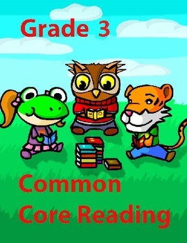 Grade 3 Common Core Reading: Benny and Sam Build a Tree Fort