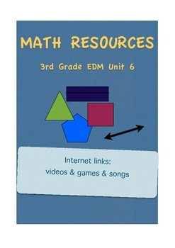 Everyday Math 3rd Grade Unit 6 Resources