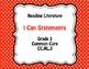 Grade 3 ELA & Math Common Core I Can Statements BUNDLE
