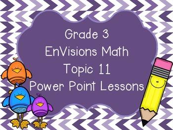 Grade 3 EnVisions Math Topic 11 Common Core Aligned Power