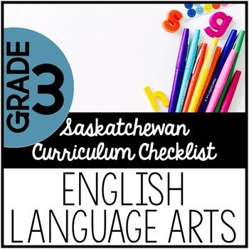 Grade 3 English Language Arts - Saskatchewan Curriculum Ch