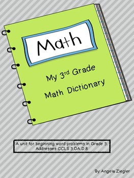 3rd Grade Math Dictionary