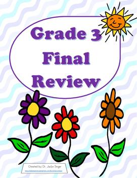Grade 3 Math Final Review Sheet