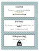 Grade 3 Math Module 2 Vocabulary Cards!