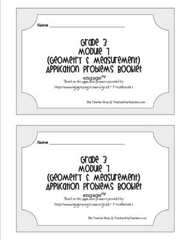 Grade 3 Math Module 7 Application Problems Booklet