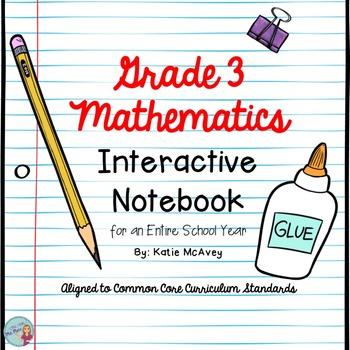 Grade 3 Mathematics CCCS Interactive Notebook