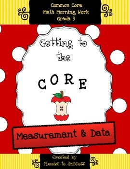 Grade 3 Measurement & Data (Including Line Plots) Assessments