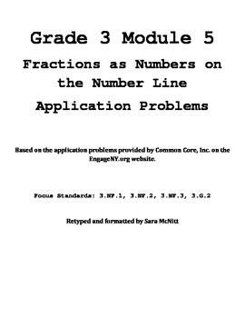 Grade 3 Module 5 Application Problems