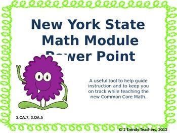Grade 3 NYS Math Module 3: Lesson 12 Power Point