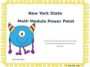 Grade 3 NYS Math Module 3: Lesson 8 Power Point