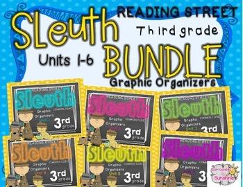 Grade 3 Reading Street SLEUTH Units 1-6 BUNDLE