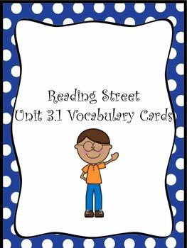 Grade 3 Reading Street Unit 1 Vocabulary