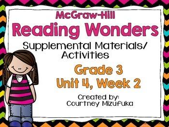 Reading Wonders Grade 3 {Unit 4, Week 2}