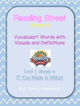 Grade 3 Scott Foresman Reading Street Vocabulary with Visu