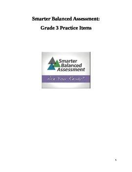 Grade 3 Smarter Balanced Released Practice Items