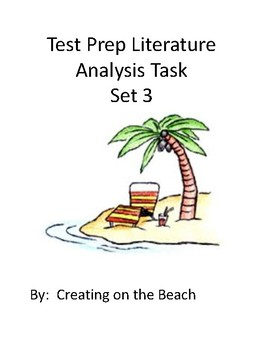 Grade 3 Test Prep Literature Analysis  Set 3
