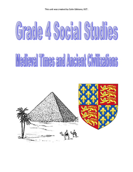Grade 4  Social Studies Unit (Research Project) - Medieval