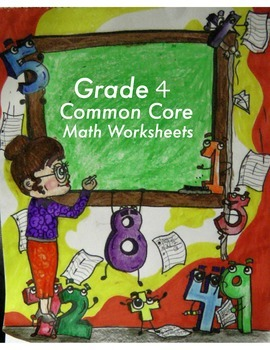 Grade 4 Common Core Math: Geometry 4.G.A.1 Worksheets #1-4