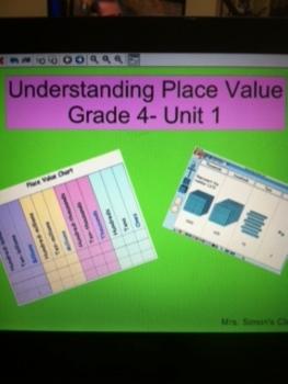 Grade 4 Common Core Math: Understanding Place Value Mimeo
