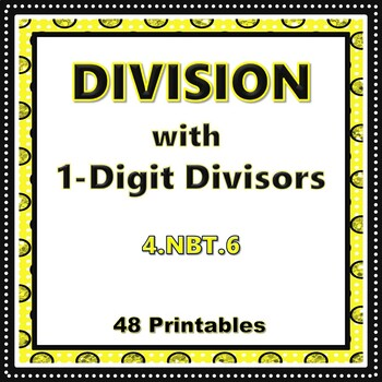 Division with 1-Digit Divisors
