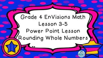 Grade 4 EnVisions Math Lesson 3-5 Power Point Lesson