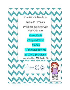 Grade 4 Envisions Math Topic 15 Review/ Problem Solving