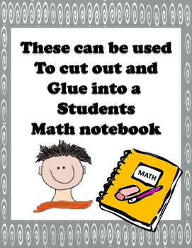 Grade 4  Math Module 4 Application Problems to cut and pas