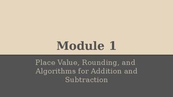 Grade 4 Eureka Math fluency power point Module 1 Lesson 5