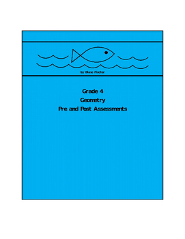 Grade 4 Geometry Pre and Post Assessment Bank