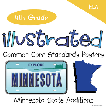 Common Core Standards I Can Statements for 4th Grade ELA -