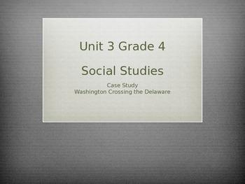Grade 4 Social Studies Case Study for Unit 3 Washington Cr