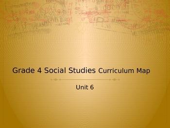 Grade 4 Social Studies Curriculum Map Unit 6 NY