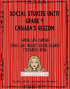 Grade 4 Social Studies Unit Canada's Regions
