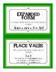 Grade 4 Topic 3 Envisions Vocabulary or Place Value Vocabulary