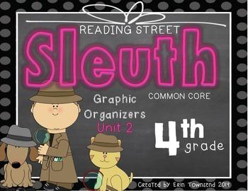 Grade 4 Unit 2 Reading Street SLEUTH Graphic Organizers