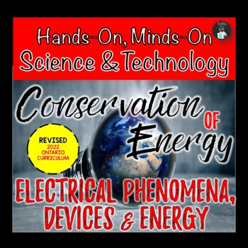 Grade 5/6 Conservation of Energy and Electricity