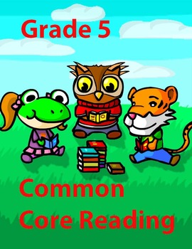 Grade 5 Common Core Reading: Peter Pan
