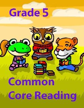 Grade 5 Common Core Reading Value Bundle #2